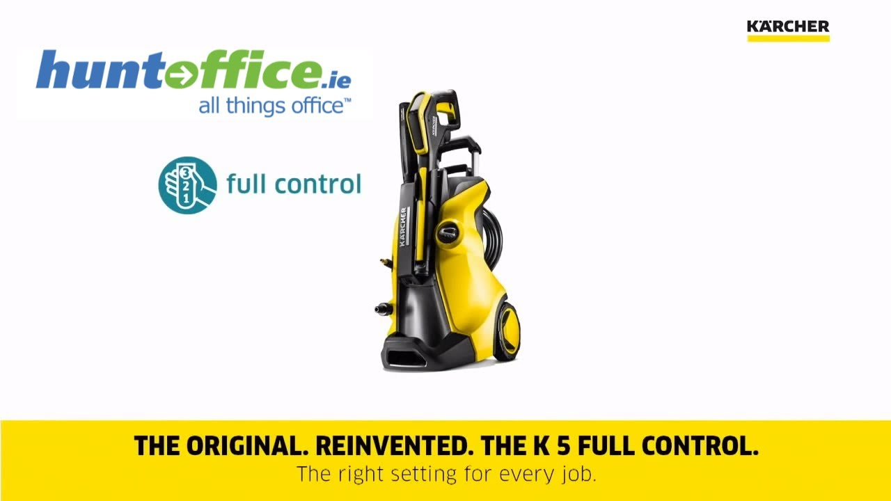 karcher k7 premium full control home pressure washer youtube. Black Bedroom Furniture Sets. Home Design Ideas