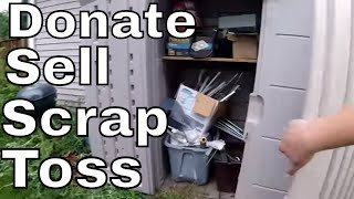 Scrapping Turned into Something Way Better | Real Estate Clean-out Part 1