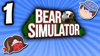 Bear Simulator: Bare Necessities - PART 1 - Steam Train