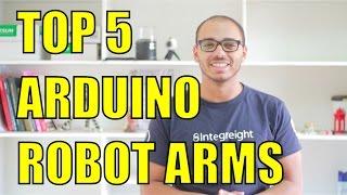 видео robot arm arduino