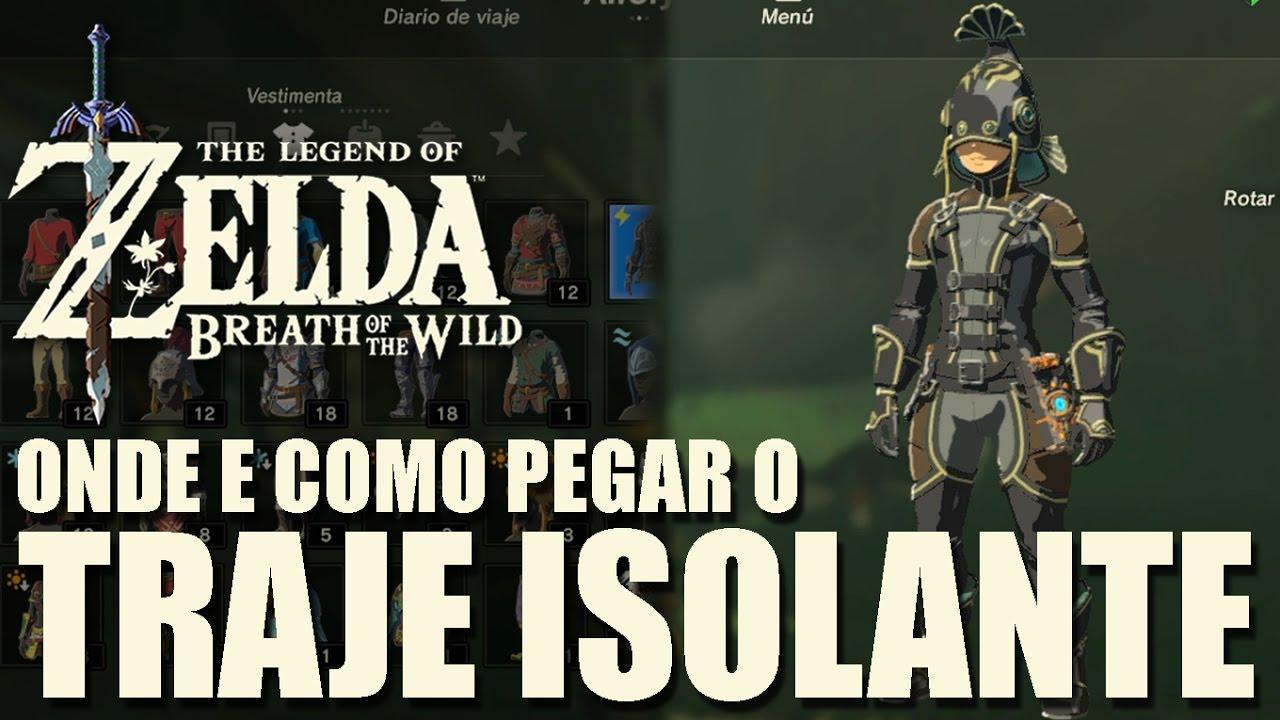 Zelda Breath Of The Wild Onde E Como Pegar O Traje