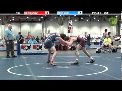 Men 160 - Billy Bigelow vs. Dallin Dunn