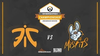 Overwatch - Fnatic vs Misfits - Grand-Final - Overwatch Championship at DreamHack Winter