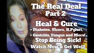 Heal or cure ulcers ...