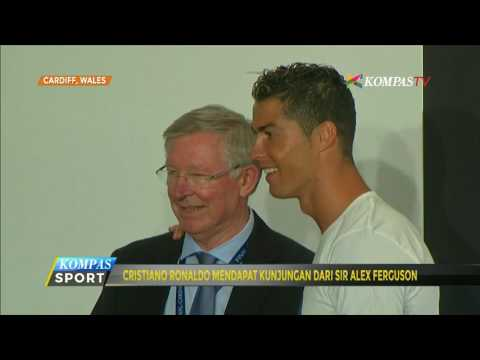 Sir Alex Ferguson Kunjungi Cristiano Ronaldo