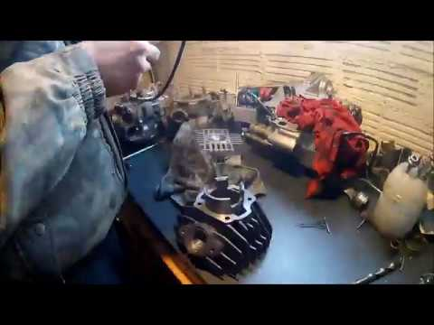 Repeat Yamaha pw50 engine rebuild assembly how to by