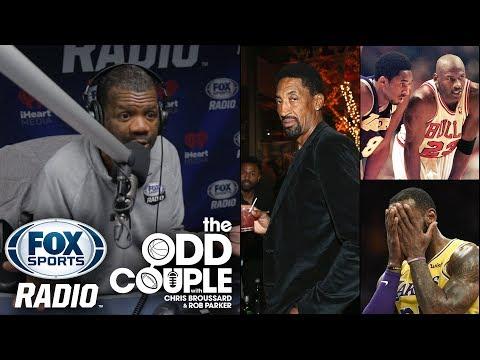 NBA - Scottie Pippen Ranks LeBron James Under Kobe Bryant & Michael Jordan