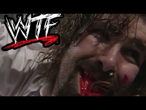 Classic WTF Moments: The Undertaker vs Mankind (Hell In A Cell) - Extra Sample