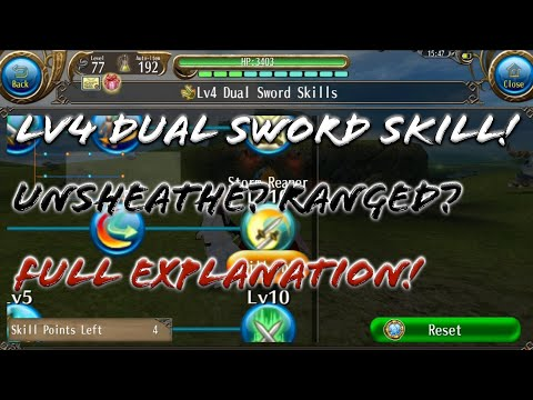 New Release: Level 4 Dual Sword Skill Review! Full Explanation from What I Know About - Toram Online