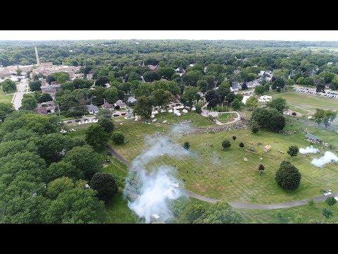 Village of Carpentersville Drone | Civil War Reenactment - 2017