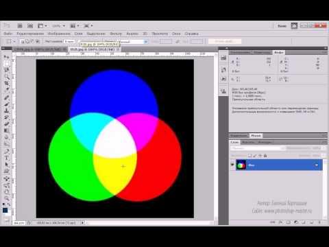 ( 2.2 Цветовые модели: RGB,