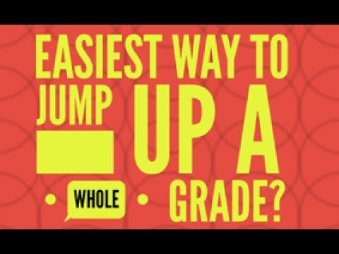 The Easiest Way to Jump Up a Whole Grade in English Language