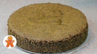 Маковый Бисквит ✧ Школа Домашнего Кондитера ✧ Poppy Seed Cake