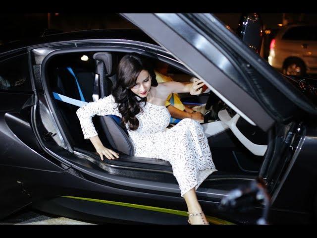 Hoa hậu chuyển giới Thái Lan đến Việt Nam đẹp rụng rời hơn thần tiên tỉ tỉ (25/10/2017)