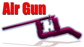 How to make Air Gun at home Simple & Powerful
