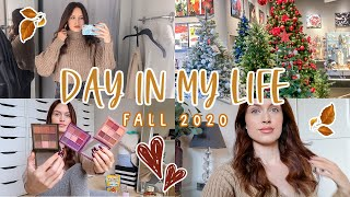 FALL VLOG! 🍂 H&M HAUL, CHRISTMAS DECOR & MORE! COSY AUTUMN 2020