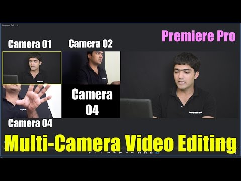 #EP-30 Mullti-Camera Video Editing In Aadobe Premiere Pro [HINDI]