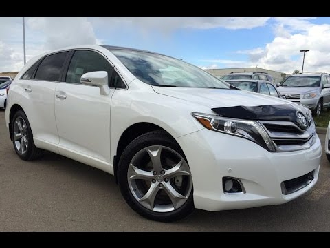 Pre Owned White 2014 Toyota Venza V6 Awd In Depth Review