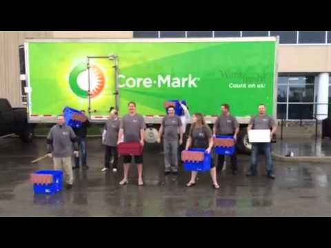 Core Mark Ice Bucket Challenge