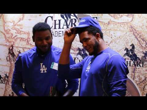 Dodgers Pedro Baez and Yimi Garcia