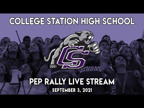 College Station High School Pep Rally - Sept. 3, 2021