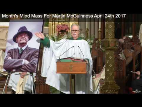 Martin McGuinness: New York Month's Mind: 24 April 2017