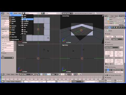 blender how to circle cut