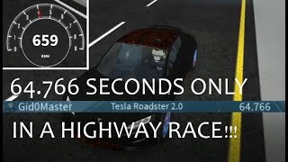 FASTEST HIGHWAY RACE EVER IN ROBLOX VEHICLE SIMULATOR | Roblox Vehicle Simulator #16
