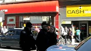 Police Arrest Innocent Marcher At Occupy London, Ontario RoboCall March