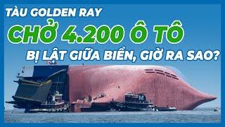 Tàu Golden Ray Chở 4.200 Ô Tô Bị Lật Giữa Biển Giờ Ra Sao?