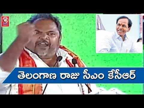 R Narayana Murthy Praises CM KCR & KTR At World Telugu Conference | Hyderabad | V6 News