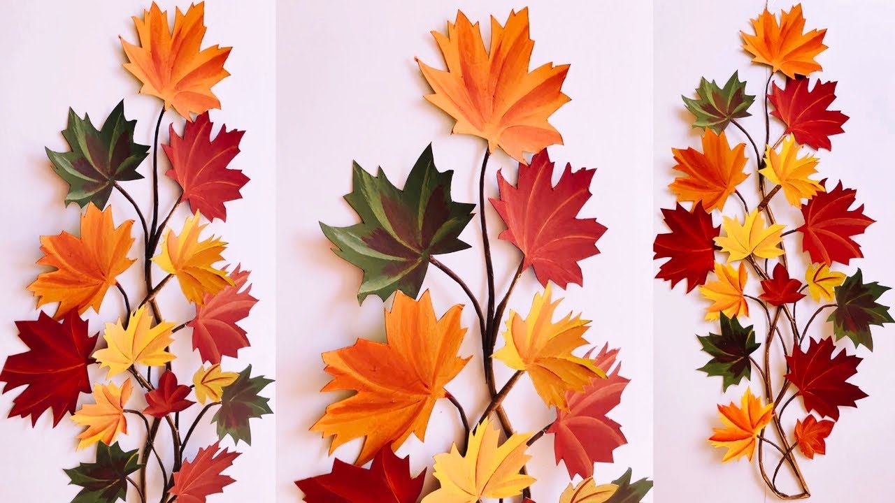 Diy Home Decor Diy Fall Seasonal Decor Wall Decoration Ideas