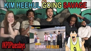 KIM HEECHUL GOING SAVAGE MOMENTS | REACTION
