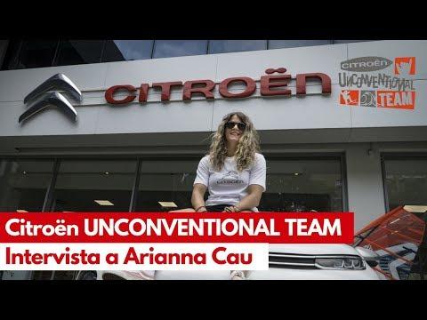 Citroën Unconventional Team 2018: intervista ad Arianna Cau