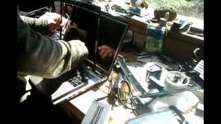 LCD install Toshiba Satellite P870 by CompuMan Computer, Laptop & Mac Repairs, Bellingham, WA