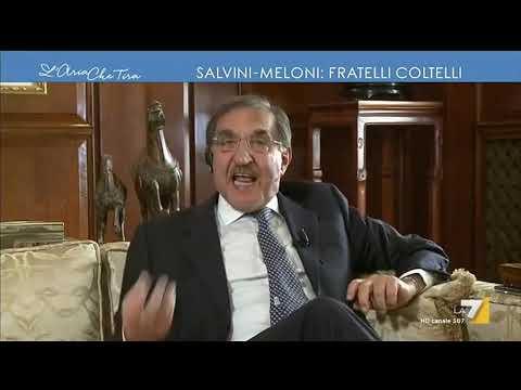 Salvini - Meloni fratelli coltelli, Ignazio La Russa: 'Non mi è piaciuto quando Salvini ha ...