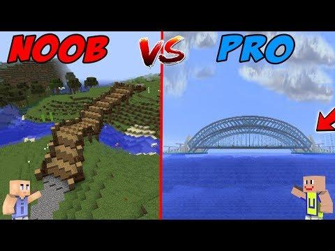 MINECRAFT: NOOB VS PRO - Jembatan Modern