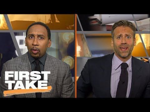 Stephen A. and Max get riled up over LeBron vs. KD | First Take | ESPN