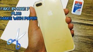 How To Make Fake 1$ iPhone 7 Plus
