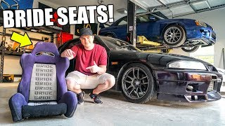homepage tile video photo for BRIDE SEATS for the R33 Skyline!