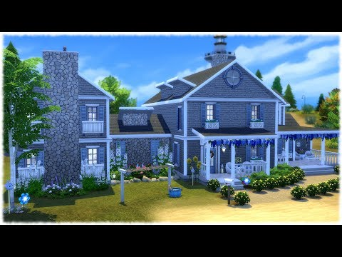 The Sims 4: Speed Build // EIGHT SIM MANSION // NO CC