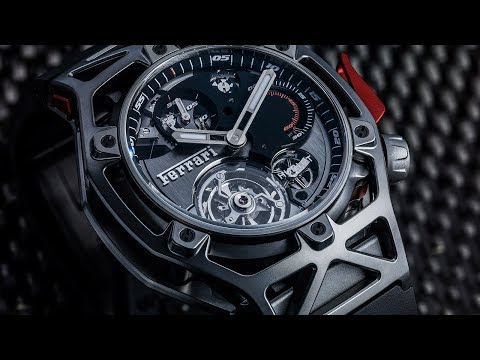 @HUBLOT : Techframe Ferrari 70 Years Tourbillon Chronograph ••• SOUS LE SIGNE DU CHEVAL CABRÉ