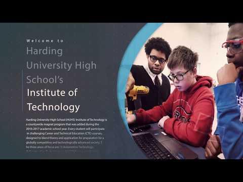 Harding University High School's Institute of Technology - Students