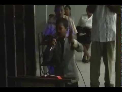 Luis Jose El Niño Predicador de 10 Años Predicando En Los Alcarrizos
