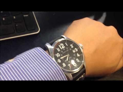 Short Review on the Hamilton khaki Field Officer Auto H70615733