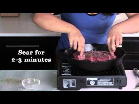 How to Pan-Sear a Steak | 1-2 Simple Cooking