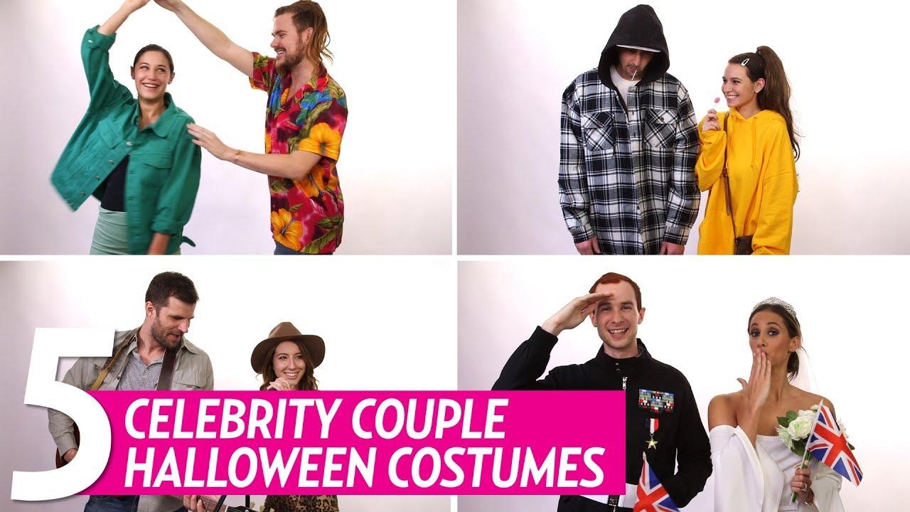 diy halloween costumes celebrity couples - youtube