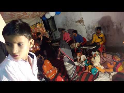 Jagran -मां bhagwati by suneel & party at Parasawara Nadbai Bharatpur