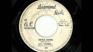 Ray Fournia With The Rocking Rebels - Settle Down (Diamond Disk)