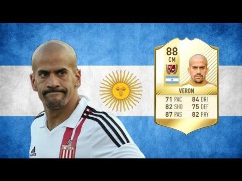 FIFA 17 - Juan Sebastian Veron - Legend Review